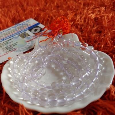 Sphatik Rosary - Natural Sphatik Bead String (Premium)