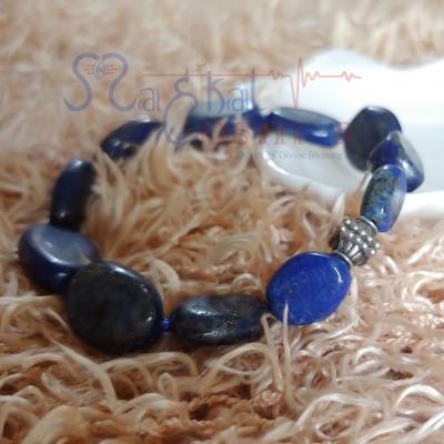 Lapis Lazuli Tumble Bracelet