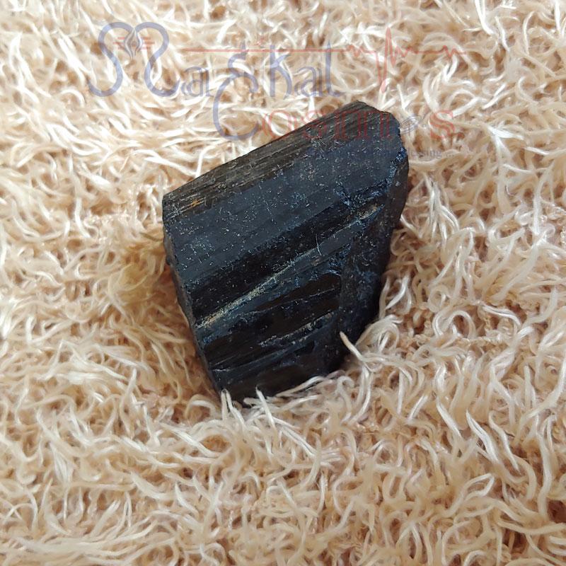Black Tourmaline Raw / Rough Crystal S